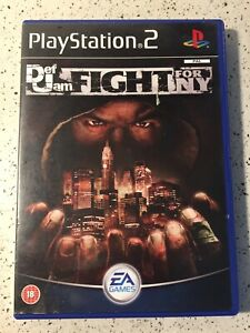 Def Jam: Fight for NY (PlayStation 2, 2004) Complete 🔥rare