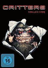 CRITTERS Sie sind da ! Teil 1 2 3 4  COLLECTION 4 DVD Box NEU