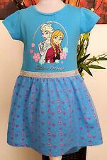 Elsa Frozen Disney Kinder Mädchen Kleid Gr. 110  Sommerkleid die Eiskönigin