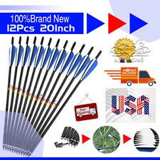 12X20Inch Target Arrows Crossbow Bolt Crossbow Carbon Arrows Crossbow From U.S.