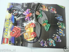 LEGO BROCHURE FLYER CATALOG TOYS 2001 LEGO RACERS DUTCH 2 PAGES 113