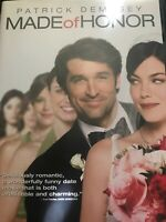 Made of Honor (DVD, 2008) MAID Patrick Dempsey, Michelle Monaghan MOVIE