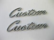 1970 FORD TRUCK CUSTOM EMBLEMS #D0TB (2) ALSO 1969 FORD CAR EMBLEMS #C9AB OTHERS