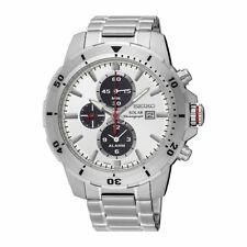 NEW Seiko Herrenuhr SSC553P1 Solar Alarm Armbanduhr Chronograph Uhr