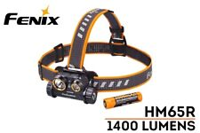New Fenix HM65R USB Charge 1400 Lumens LED Headlight Headlamp ( With Battery )