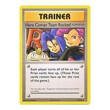 Pokemon XY Evolutions Here Comes Team Rocket! 113/108  Secret Rare Card