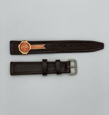 Vintage genuine Leather Watch strap by Monopol