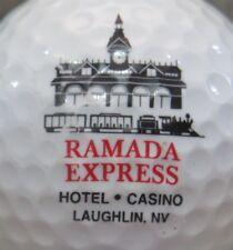RAMADA EXPRESS HOTEL LAUGHLIN LAS VEGAS CASINO LOGO GOLF BALL