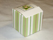 "~SWEET PEA~   12- CAKE /FAVOR BOXES     3""X3""X3""    PARTY SUPPLIES"