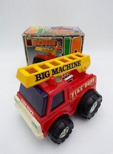 Vintage 1970's Yonezawa Japan Friction Big Machine Fire Truck NEW MIB