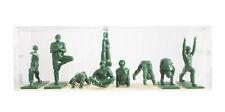 Yoga joes-Here to keep the inner peace-Box con 9 figuras de plástico, nuevo