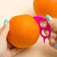 5 x Citrus Fruit Slicer Orange Lemon Cutter Peeler Opener Peeler Plastic Remover