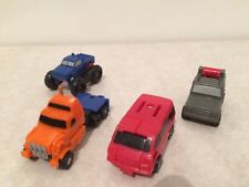 Transformers G1 Micormaster Off-road Patrol Powertrain Tote Highjump Mudslinger