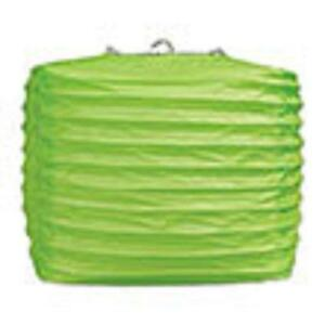 """2 light green paper square lanterns 8"""" wedding party decorations"""