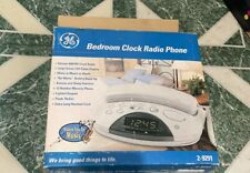 Dual Am/Fm Radio Alarm Clock Telephone Bedroom Phone.