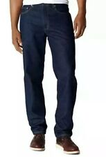 LEVIS 550 Men's Jeans Relaxed Fit Stretch Blue Dark Wash Sz W32 L36 MSRP $59.50.
