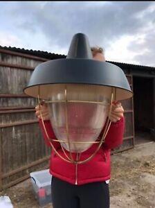 Thomas O'Brien 'Henry Industrial Hanging Light' Visual & Comfort RRP £700