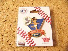 2007 Kansas City Royals Baby New Year's pin version 2