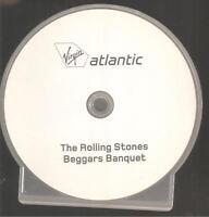 "ROLLING STONES ""Beggars Banquet"" Rare Acetate Promo CD"
