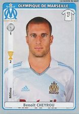 N°266 BENOIT CHEYROU OLYMPIQUE MARSEILLE OM STICKER  PANINI FOOT 2011-2012
