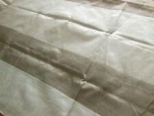 C1 coupon tissu moderne style voilage 1 mètre 12  sur 73 cm idéal rideau gris