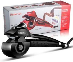 Automatic Curling Iron Steam Hair Curler Ceramic Titanium Spiral Rotating Gift