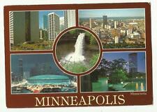Minneapolis multi view, USA postcard