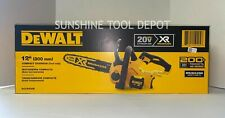 """DeWalt Dccs620B 20V Max Xr 12"""" Cordless Brushless Compact Chainsaw - Bare Tool"""