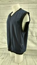 DRYJOYS  FOOT JOY  NAVY BLUE VEST JACKET LARGE