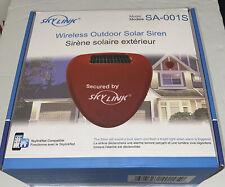 SkyLink Wireless Outdoor Solar Siren Model SA-001S