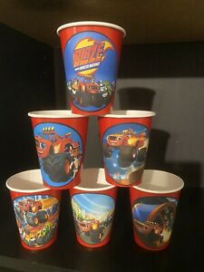 12 BLAZE AND THE MONSTER MACHINES Birthday Party Paper Cups 9OZ