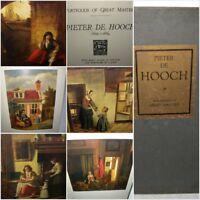 Portfolios of Great Masters - Pieter De Hooch 1629-1684, HB, 1925, Halton
