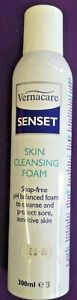 SKIN CLEANSING FOAM VERNACARE SENSET SOAP FREE FOR BED BOUND CARE £6.95