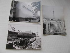 3 B&W Real Photographs Of JAPANESE Post War Industry -NHK Radio & Mitsubishi....