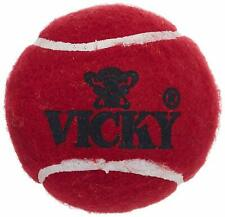 Vicky Cricket Ball Tennis Heavy, Pack of 6 (Maroon) Freeshipping