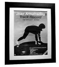 JOAN ARMATRADING+Best+Pilot+POSTER+AD+RARE ORIGINAL 1983+FRAMED+FAST GLOBAL SHIP