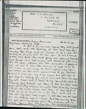 Mrs J C Mayne. 11 Zinzan Street, Reading   1943 Airgraph BG480