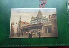 Transport & Verkehr Ansichtskarten aus Deutschland mit dem Thema Eisenbahn & Bahnhof frankierte