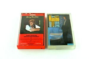 Barry Manilow Greatest Hits Volume II Swiing Street Vtg Audio Cassette Tape Lot