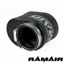 RAMAIR Performance Motorcycle - Twin Layer Race Foam Oval Pod Air Filter 52mm ID