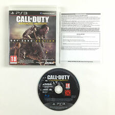 Jeu Call of Duty Advanced Warfare PS3 Sur Console Sony Playstation 3