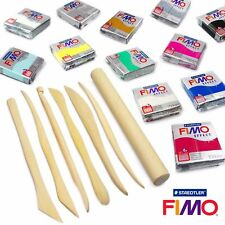 FIMO Effect Modelling Clay Professional Set -12 X 57g 7 Pro Moulding Tools