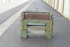 Pexto finger brake box and pan PX36-A
