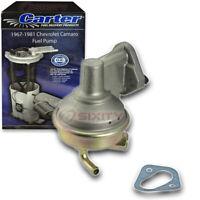 Carter Fuel Pump for 1967-1981 Chevrolet Camaro 5.4L 5.3L 4.4L 5.7L 5.0L V8 df