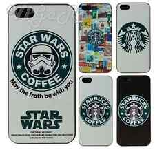 Cover Case Custodia Apple iPhone 6s 6 5c 5s 5 4s 4 Starbucks Star Wars Coffee