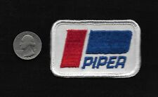 Vintage 70s PIPER Aircraft Logo Collectors Aviation Aircraft Patch