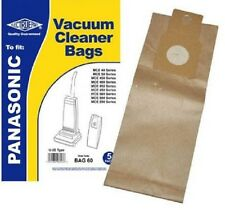 Connect BAG60 Vacuum Cleaner Bags to Fit Panasonic MCE40 50 U-2e T
