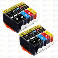 10PK NEW PGI-225 CLI-226 Ink Cartridges for Canon MG5120 MG5220 MG5320 Printers