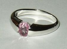 Judith Williams Ring Silber 925 mit rosa Kunzitquarz Gr 21