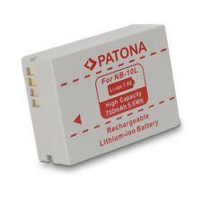 Bateria PATONA NB-10L para Canon Powershot SX40 HS | SX-40 | SX40H | SX 40 H